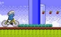 Smurf na Bike