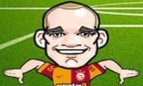 Sneijder controlando a bola