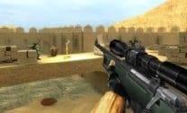 Soldados no Deserto 3D