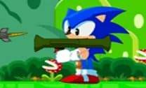 Sonic na cidade do Mario