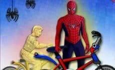 Spider-Man BMX Race