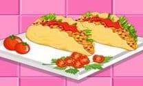 Tacos De Salmão Frescos