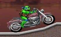 Tartaruga ninja na moto