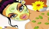 Tratamento de beleza no spa