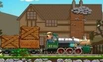 Trem na Floresta