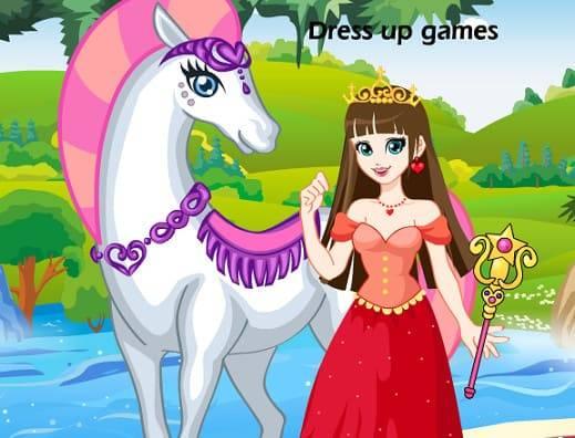 Vestindo a princesa