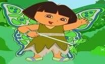 Vestir a Dora de fadinha