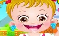 Vestir A Princesa Bebê Hazel