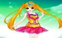 Vestir Garota Arco-Íris