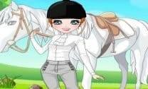 Vestir Garota e o Cavalo