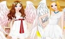 Vestir Garotas de Anjo