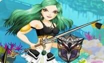 Vestir guerreira sereia
