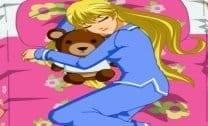Vestir Nadia para dormir