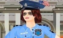Vista A Policial Americana