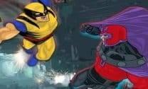 Wolverine contra o Magneto